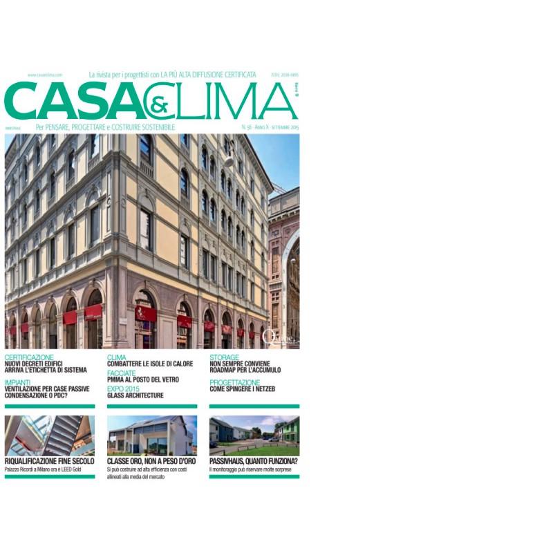 Casa&Clima settembre 2015