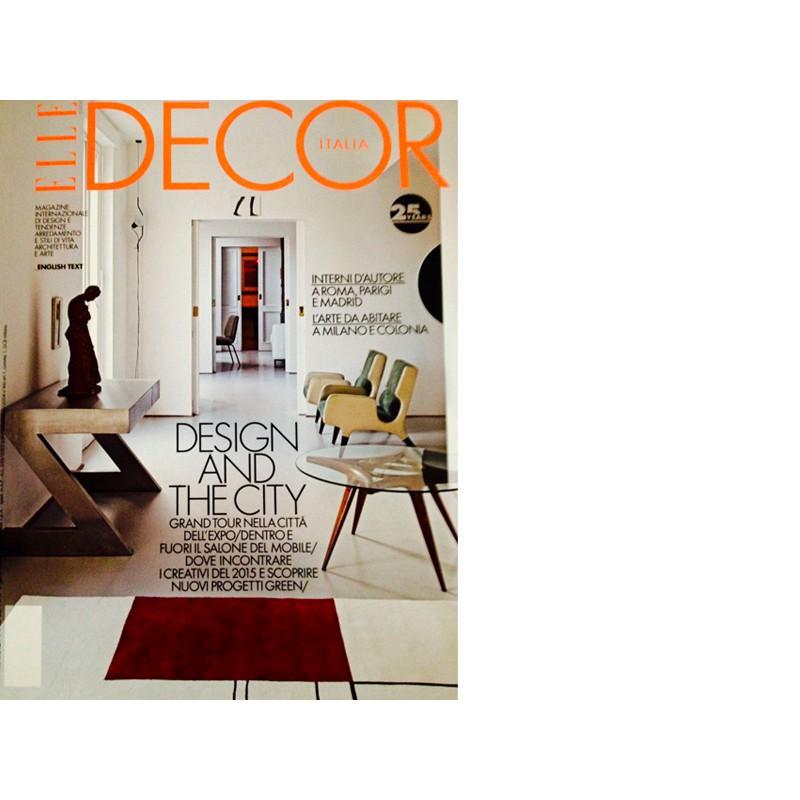 Elle Decor aprile 2015